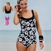 Miss Mary Swimsuit with figure shaping front 44-52 * Fri Frakt *