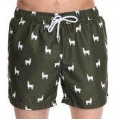 Panos Emporio Classic Llama Swim Shorts
