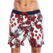Sloggi Flower Swim Shorts Red * Fri Frakt *