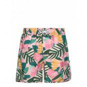 Swim Shorts Sandhamn Collage Leaves Badshorts Multi/mönstrad DEDICATED