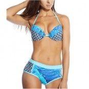 Seekers Push Up Bikini Set Print Blue * Fri Frakt *