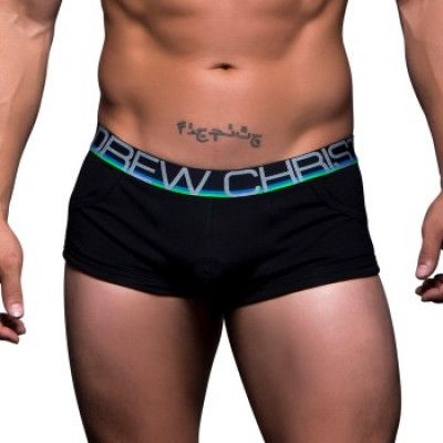 Andrew Christian Show-It Tagless Pocket Boxer * Fri Frakt *