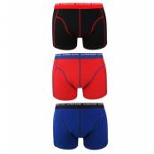 Björn Borg - 3-pack basic short shorts - Black/Red/Blue