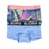 Björn Borg Girls Mini Shorts BB Garden Solids 2-pack * Fri Frakt * * Kampanj *