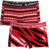 Björn Borg 2-pack Girls Mini Shorts Paradise Pink * Fri Frakt * * Kampanj *