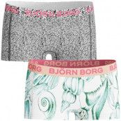 Björn Borg Mini Shorts Girls Shells & Gravel 2-pack * Fri Frakt * * Kampanj *
