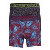 Shorts Bb Ny Palmleaf & Bb Tiny Flower 2p Boxerkalsonger Multi/mönstrad Björn Borg
