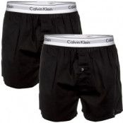 Calvin Klein 2-pack Modern Cotton Woven Slim Fit Boxer * Fri Frakt *