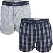Calvin Klein 2-pack Slim Fit Woven Boxer 17 * Fri Frakt * * Kampanj *