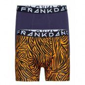 2 Pack Tiger Boxer Boxerkalsonger Multi/mönstrad Frank Dandy