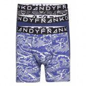 3-Pack Dangerous Waters Boxer Boxerkalsonger Blå Frank Dandy