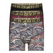 3-Pack Waves & Snakes Boxer Boxerkalsonger Frank Dandy