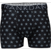 Frank Dandy Galaxie Boxer Black/White (M)