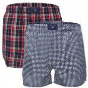 Gant 2-pack Winter Star Woven Boxer Shorts * Fri Frakt * * Kampanj *