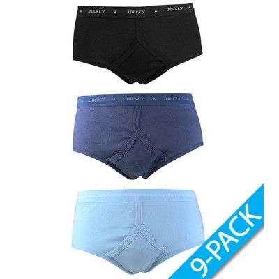 Jockey - 9-PACK- y-front brief - Blue