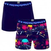 Muchachomalo 2-pack Cotton Stretch Retro Wave Boxer * Fri Frakt *