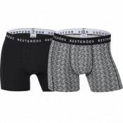 Resteröds 2-Pack Sven Boxer, Black & Grey (XL)