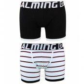 Salming - Alexander  long boxer - Black/White