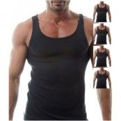Salming No Nonsense Tanktop Black 5-pack * Fri Frakt *