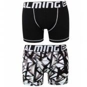 Salming - Wiegand long boxer - Black/White