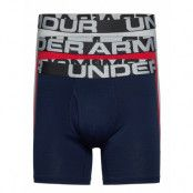 Ua Charged Cotton 6in 3 Pack Boxerkalsonger Multi/mönstrad Under Armour
