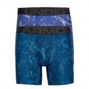 Ua Tech 6in Novelty 2 Pack Boxerkalsonger Blå Under Armour
