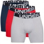 Under Armour 3-pack Charged Cotton 6in Boxer