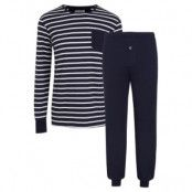 Jockey Cotton Nautical Stripe Pyjama * Fri Frakt *