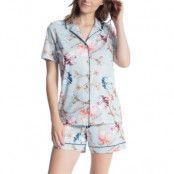 Calida Cosy Flowers Short Pyjama * Fri Frakt * * Kampanj *