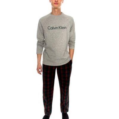 Calvin Klein Woven PJ Set * Fri Frakt *