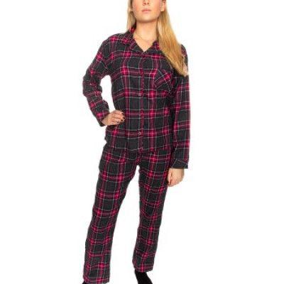 Damella Flannel Check Pyjama * Fri Frakt *