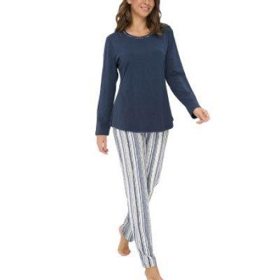 Lady Avenue Soft Bamboo Long Pyjama