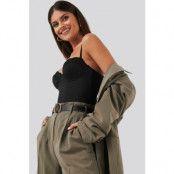 NA-KD Lingerie Micro Lace Bodysuit - Black