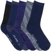 Frank Dandy Bamboo Mix Crew Sock 5-pack * Fri Frakt *