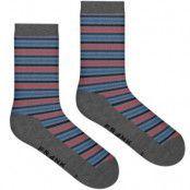 Frank Dandy Bamboo Stripe Crew Sock * Fri Frakt * * Kampanj *