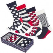 Happy Socks Big Dot Socks Gift Box 4-pack * Fri Frakt *