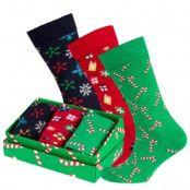 Happy Socks Christmas Socks Gift Box 3-pack * Fri Frakt *