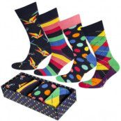 Happy Socks Origami Socks Gift Box 4-pack * Fri Frakt *
