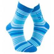 Socker - Turquoise stripes
