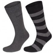 Hugo Boss Design Ribbed Socks 2-pack * Fri Frakt * * Kampanj *