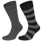 Hugo Boss Design Ribbed Socks 2-pack * Fri Frakt * * Kampanj *