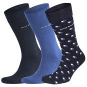 Hugo Boss 3-pack Design Ribbed Socks Giftset * Fri Frakt * * Kampanj *