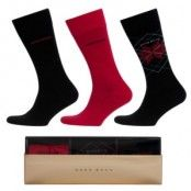 Hugo Boss Gift Box Red/Black 3-pack * Fri Frakt *