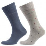 Hugo Boss Socks Polka Dot Pattern 2-pack * Fri Frakt * * Kampanj *