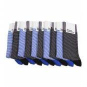 Strumpkompaniet - 10-pack - Blue/Grey striped