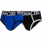 CR7 - Cristiano Ronaldo 2-Pack Boys Brief - Black & Blue (134-140)